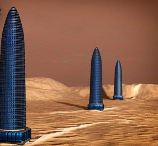 mars towers